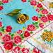 Vintage Rose Handkerchiefs