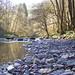 Quiet river bed..