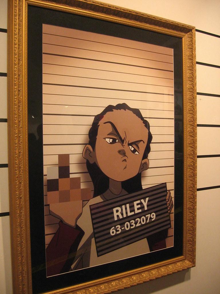 riley from boondocks by saucepaper flickr