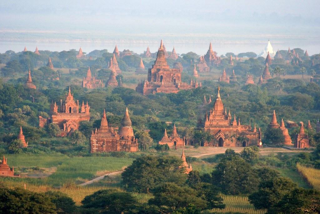 Shwe Nan Yin Taw Complex Amp Ywa Haung Gyi Pagan Burma