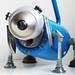 Ol' blue robot dog