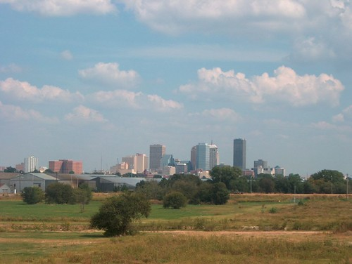 Oklahoma city skyline | by TheFriendlyFiend