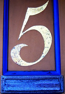 Lucky number 5 | by Darwin Bell