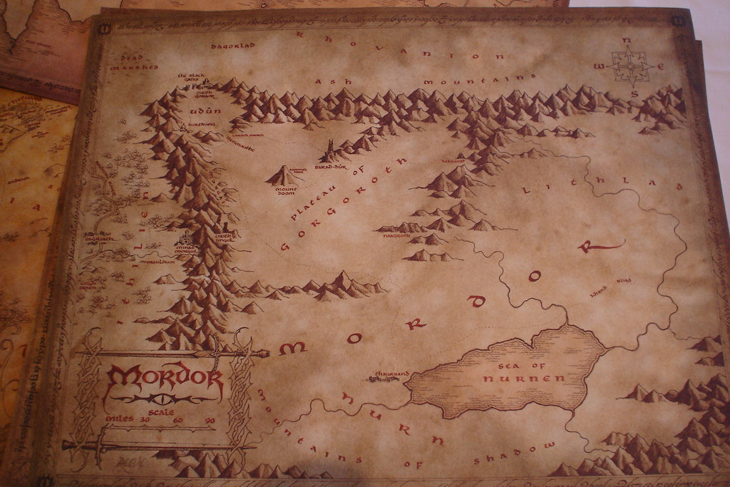 how to get to mordor from the shite
