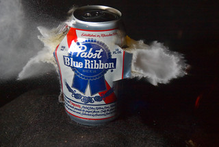Pabst + Hollow Point | by nebarnix