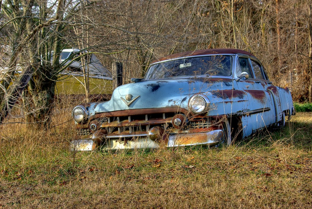Old Cars Rusty