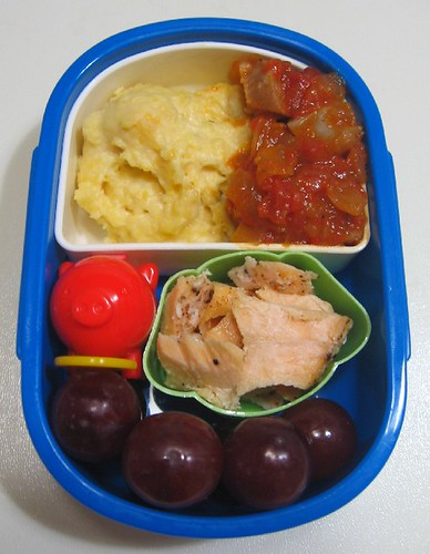 Grits lunch for toddler | by Biggie*