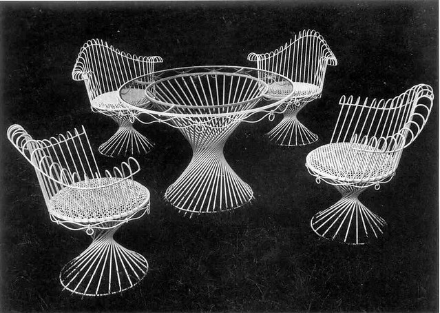 Mathieu Matégot | Salon de jardin Anthéor. Circa 1950. | Cécile | Flickr