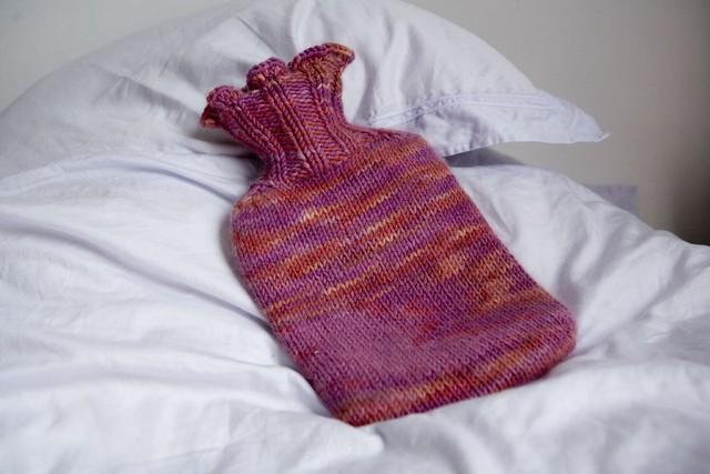 Hot water bottle = lifesaver I designed the pattern. Knitt? Flickr