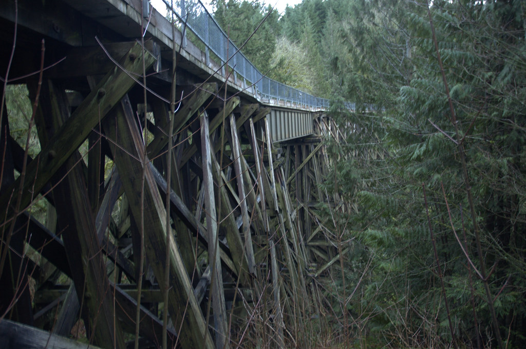 Tokul Creek Trestle This Is The Trestle Over Tokul Creek