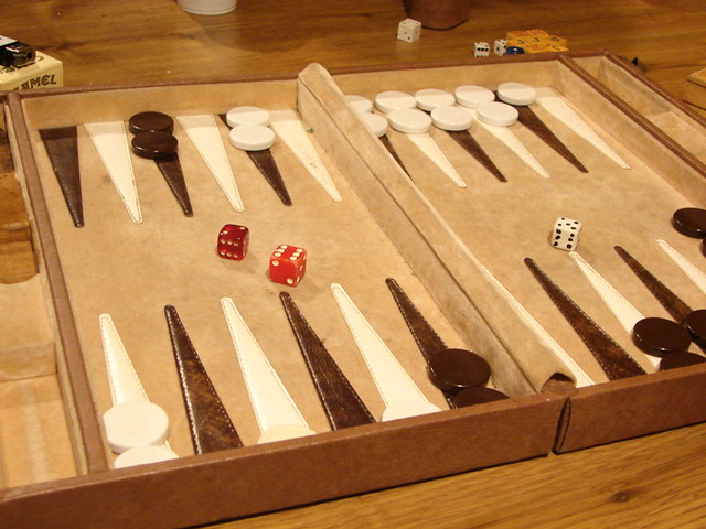 Backgammon Who Will Win David De La Luz Flickr