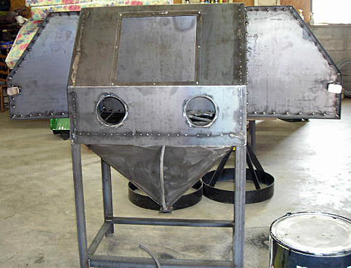 Sandblast Cabinet By D Sullivan Contributed By D
