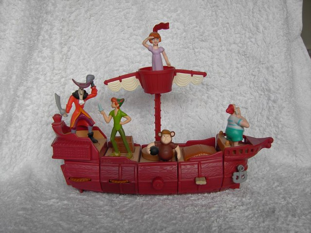 Peter Pan Pirate Ship Toy Peter Pan Happy Meal Toy