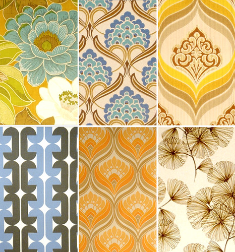 Vintage wallpaper | by the style files