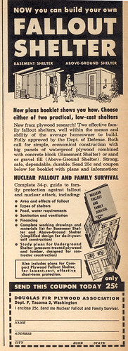 Fallout shelter ad | by wardomatic