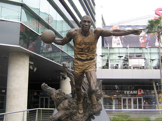 Magic Johnson Statue At Staples Center | by Fat Elvis Records