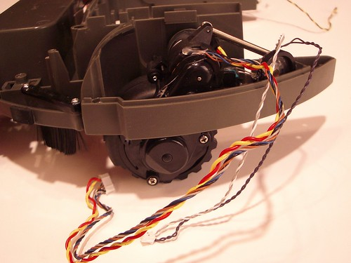 Roomba Dissection Drive Motor Tod Kurt Flickr