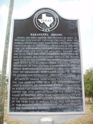 Karankawa Indians Among The First Indians Encountered In
