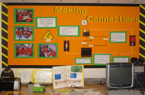 Electricity display - making connections | Linda Hartley ...