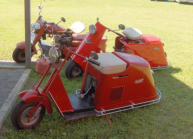 Allstate Motor Club >> My Cushman Scooters at Hiawassee (made in USA) | My ...