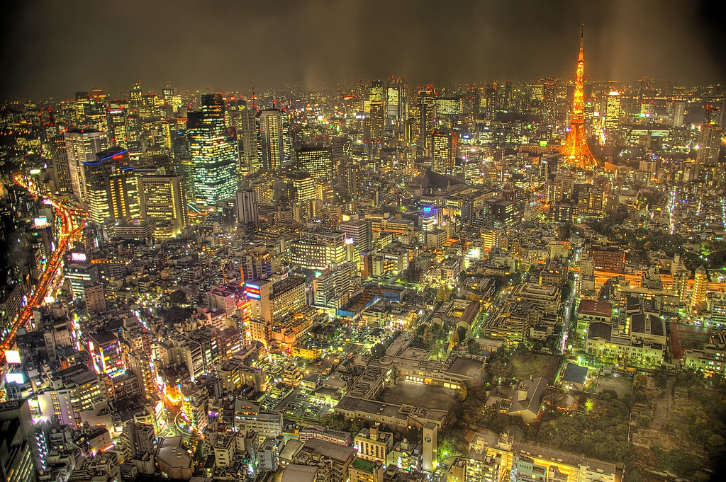 Tokyo City Lights Brought My Pentax Dslr To Work Today