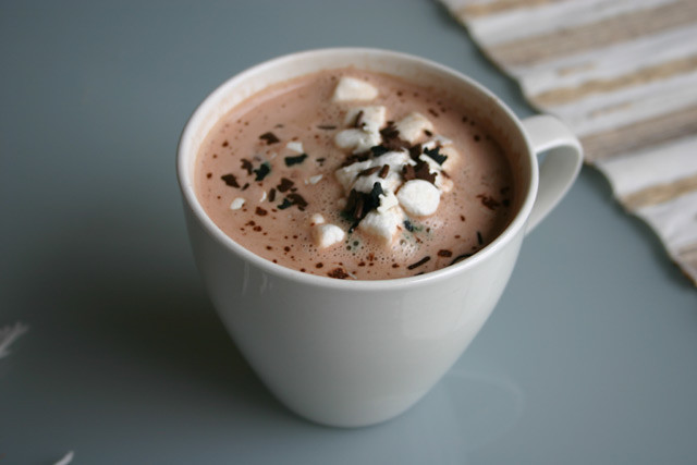 hot chocolate Mmmm Hot chocolate on a cold winter 39 s day