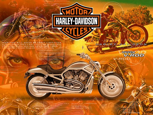 Harley Davidson V Rod Wallpaper A Desktop Wallpaper