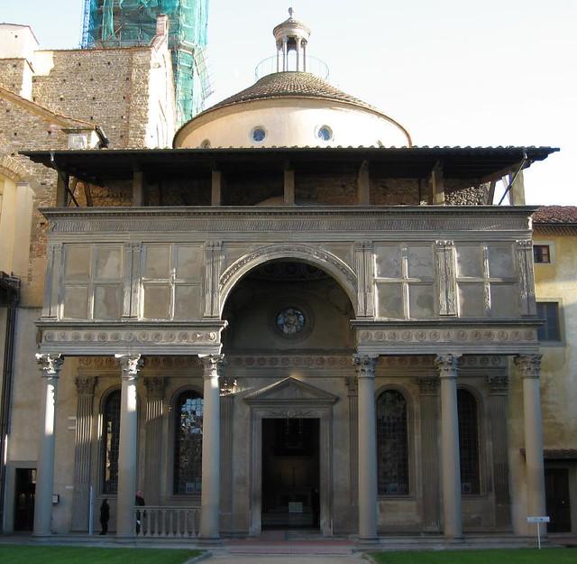Brunelleschi S Pazzi Chapel At Santa Croce Mollysvh Flickr
