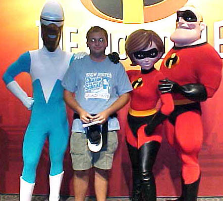 ... Mr. u0026 Mrs. Incredible and Frozone | by disneyphilip  sc 1 st  Flickr & Mr. u0026 Mrs. Incredible and Frozone | Meeting Frozone Elastigu2026 | Flickr