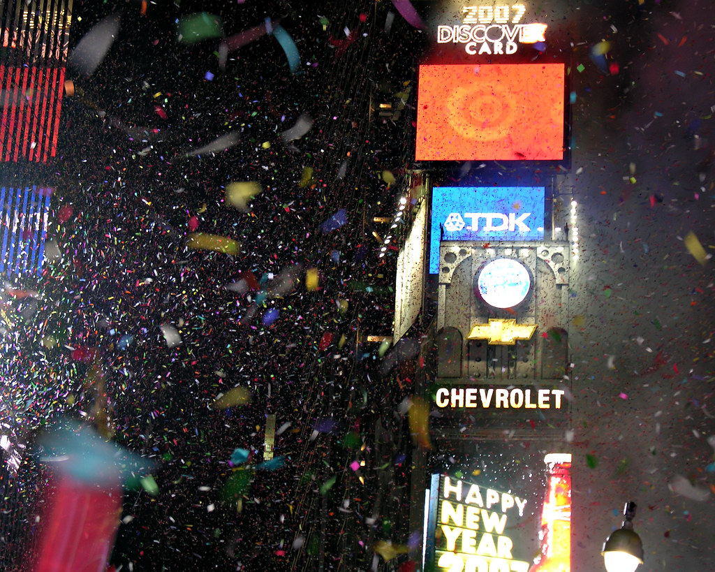 happy new year times square new years eve 2007 by jackbenas
