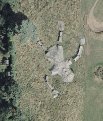 Giant Gulliver from Google Earth, Hunters Hall Park, Craigmillar, Scotland. | by Andrew Niddrie