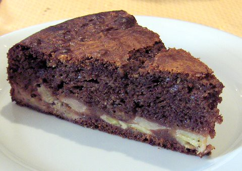 Gateau Au Chocolat Et Banane Banana Chocolate Cake At
