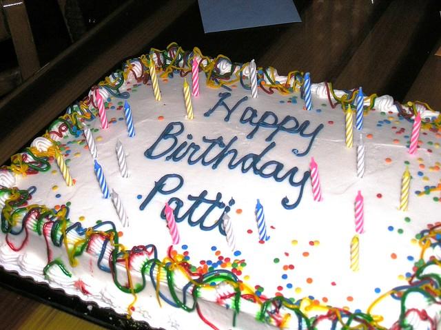 Birthday Cake Take Home Boxes