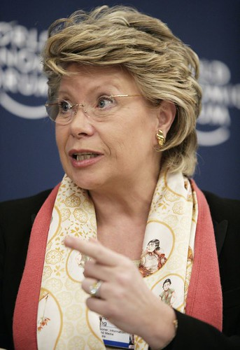 Viviane Reding - World Economic Forum Annual Meeting Davos 2007 | by World Economic Forum