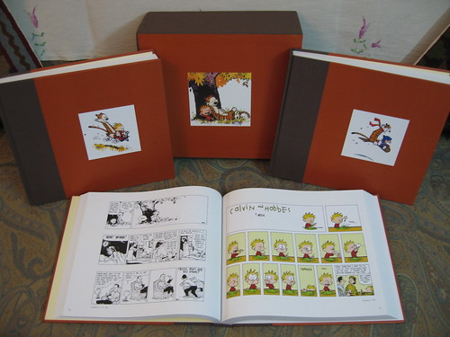 The Complete Calvin & Hobbes Collector's Edition Bookset - Open (View 2) | by kushwaha