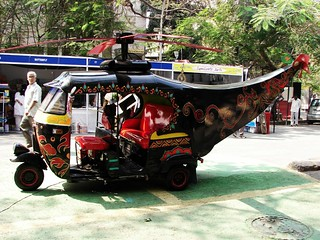 It's a Bird, a plane no a helirickshaw! | by calamur