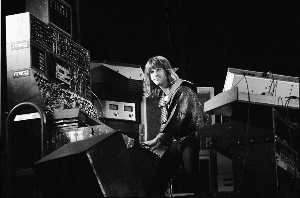 Keith Emerson, anni 70