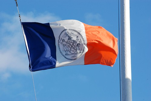 official flagnew york city the seal depicts dexter a