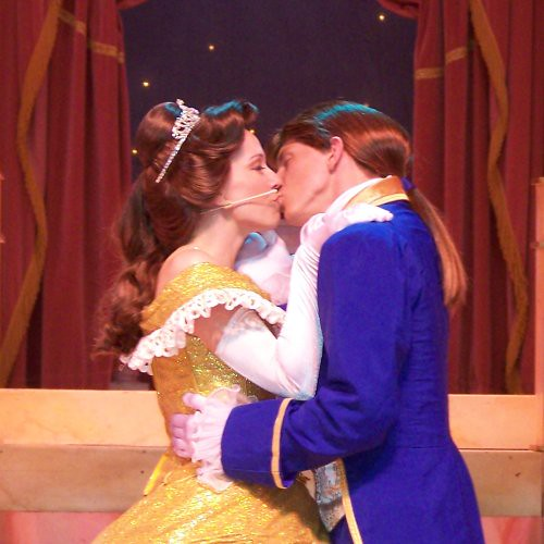 Fancy Belle And Beast Kiss