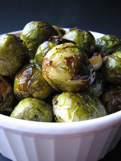 Balsamic Glazed Brussel Sprouts | by britton618