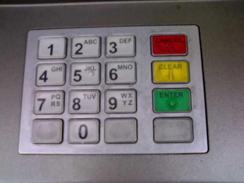 Cash machine key pad | by hugovk