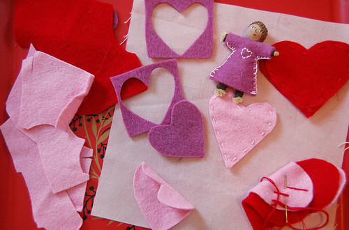 valentines crafting | by SouleMama