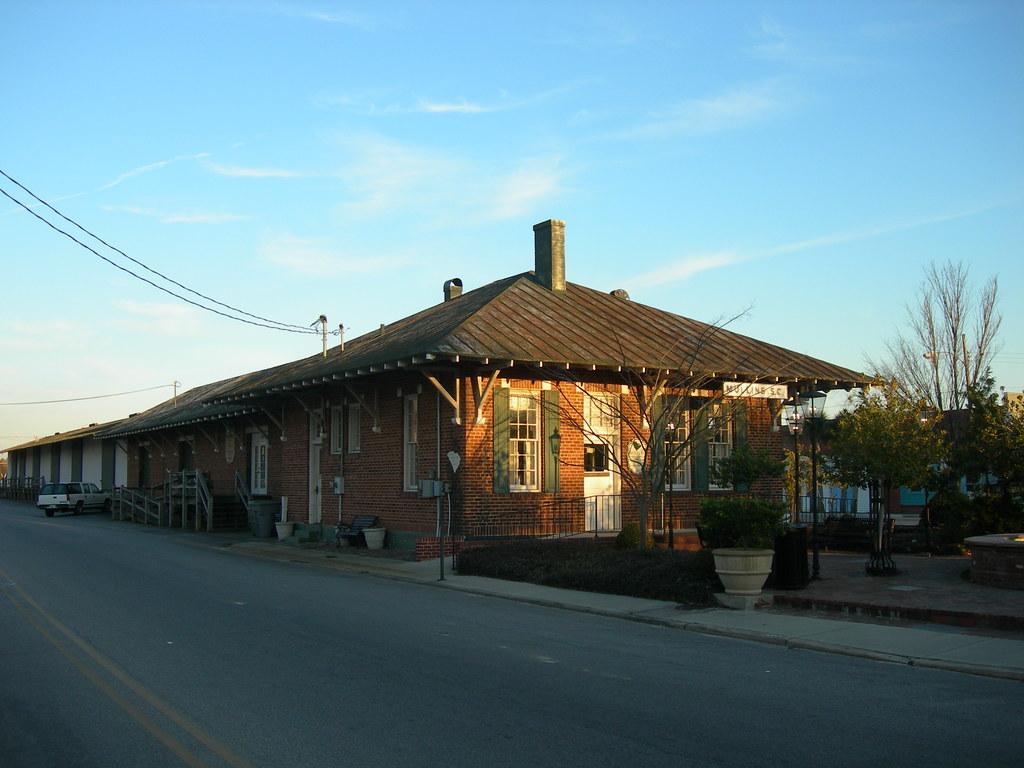 Mullins Train Depot Mullins South Carolina Built In