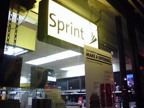 Sprint Store Sign | by Consumerist Dot Com