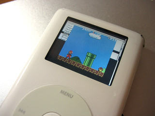 Playing Super Mario Bros (Gameboy Color Game) on iPod photo | by FHKE