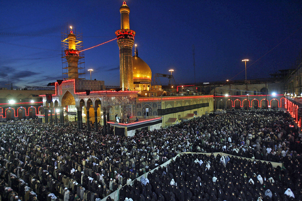 Tomb of Imam Hussein Ra in Karbala, Iraq | Shiite Muslim ...