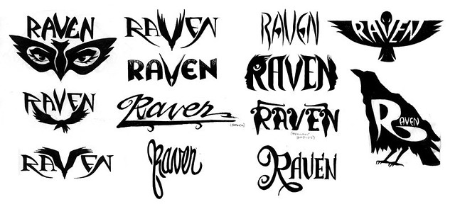 raven logos logo ideas for a friend s potential band albert rh flickr com raven login cambridge raven logout