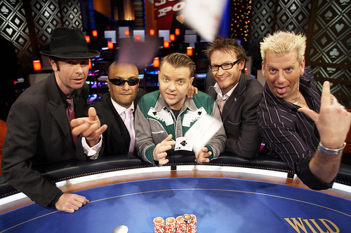 Subby Valentine, Akmal Saleh, Rusty Berther, Josh Lawson, Pommy Johnson | by Joker Poker