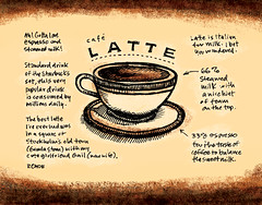 Coffee Calendar: Latte Sketchtoon | by Mike Rohde