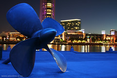 Blue Propeller | by Adam Dimech